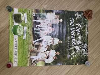 Exo nature republic poster