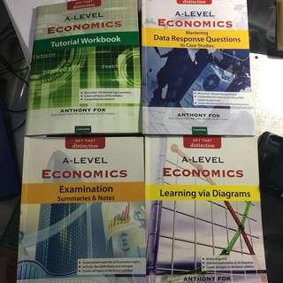 A level Economics Guide Book Get That Distinction