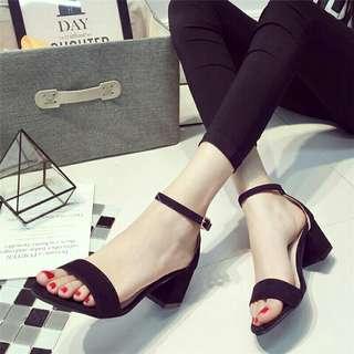 Black Heels / Sandals