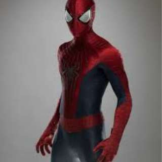The amazing spiderman 2 suit