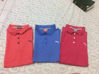 Authentic PUMA blue Polo Shirt