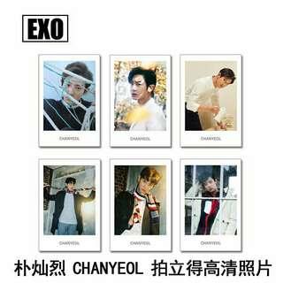 EXO Chanyeol Polaroid Set