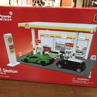 Shell station play set