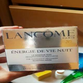 Lancome paris sleeping mask