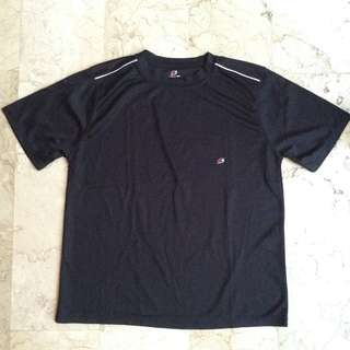 Starting Line Black Dri-Fit Shirt for Men