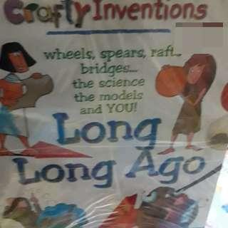"9 buku,crafty invention (english) buku penemuan2 umat manusia buat anak"" ini harga 9 buku ya"