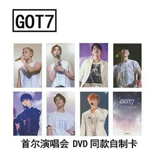 Got7 Fly In Seoul Photocard