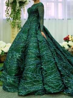 Wedding Gown (Green)