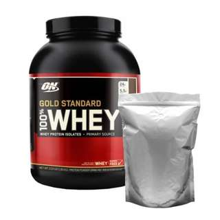 REPACK TRIAL SIZE 3 Lbs ON Optimum Nutrition Whey Gold Standard 100%