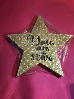 'You are a star' light up decor display
