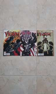 Venom Vol 2 (Marvel Comics 3 Issues, #3 to 5)