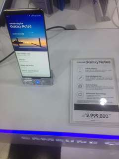 Promo Cash Back 300.000 Samsung Galaxy NOTE 8