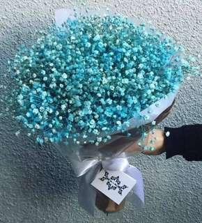 Baby Breath Bouquet / Graduation Gifts / Flower bouquet