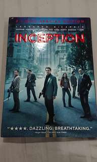 Inception DVD (2-disc set)