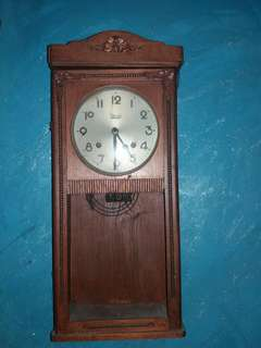Antique Clock brand meiji japan