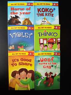 Set of 6 Storybooks