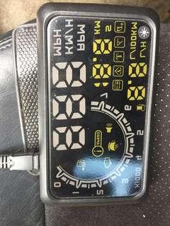 E46用抬頭顯示器多功能