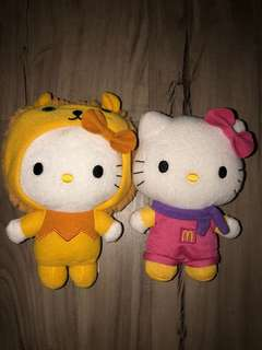 Hello Kitty Plush Toys set