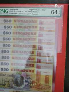 Singapore Polymer S50 Complete Set Prefix J Replacement 64 epq the rest non graded