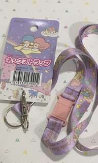 Sanrio little Twin stars lanyard