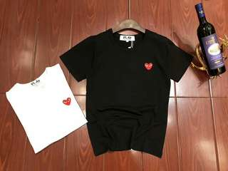 CDG Play T-shirt (Black/White)