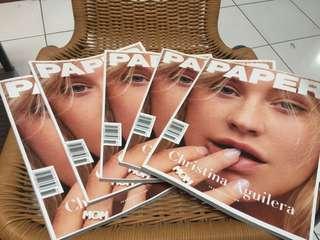 paper magazine christina aguilera xtina