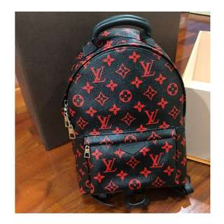 Authentic Louis Vuitton Backpack Infra Rouge