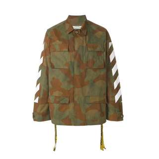 Off White 17FW Camouflage Field Jacket