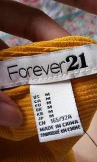 Forever 21 Mustard blouse