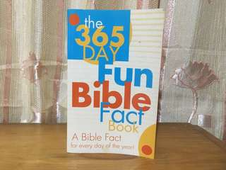 (Pre-loved) 365 Fun Bible Fact Book