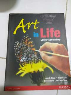 Art in life Lower secondary Testbook