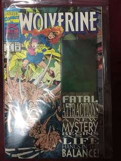 Marvel Wolverine #75 1993