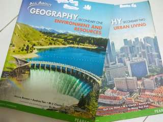 Geography textbook Sec 1&2