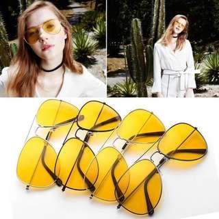 [PO] Yellow Tint Rayban Sunglasses #20under