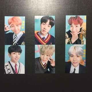 BTS 日本場 fm photo binder 小卡