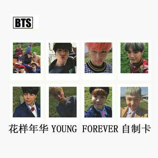 BTS Young Forever Polaroid Set