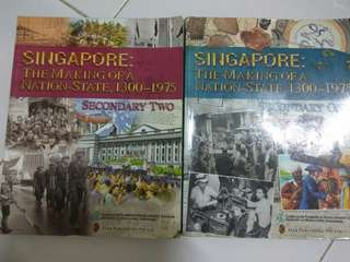 History textbook lower secondary