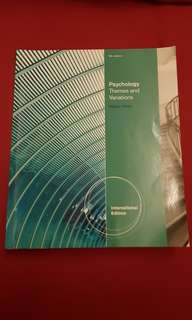 Psychology Themes and Variation 9th edition