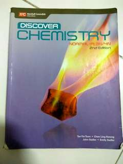 Chemistry science textbook