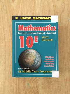 Haese Mathematics for the international student