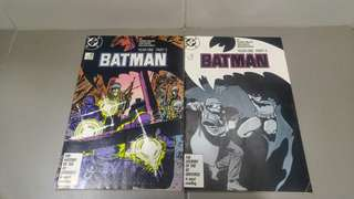 Copper Age Comics Batman Year One parts 3 and 4