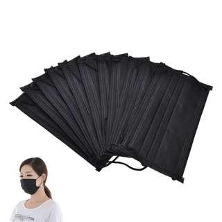 4PCS Kpop Airport Black Face Mask #Ramadan50