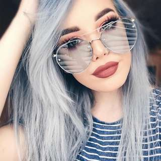 [PO] Colour Tinted Aviator Sunglasses #20under