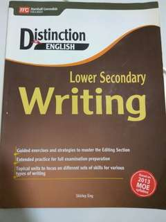 Lower Secondary Writing Textbook
