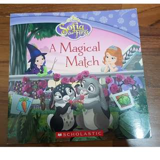 Sofia The First - A Magical Match