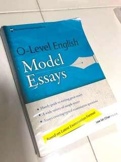 O lvl English Model Essays