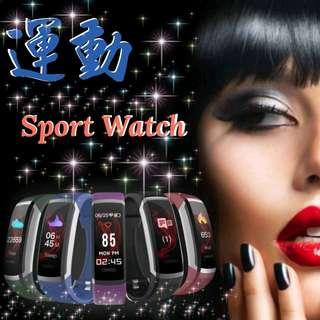 運動藍芽手環 Bluetooth Smart Watch