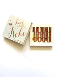 Brand New Kylie Cosmetics IN LOVE WITH THE KOKO - Full Set ❤️AUTHENTIC❤️