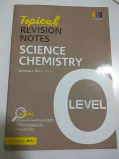 Science chemistry o levels Notes