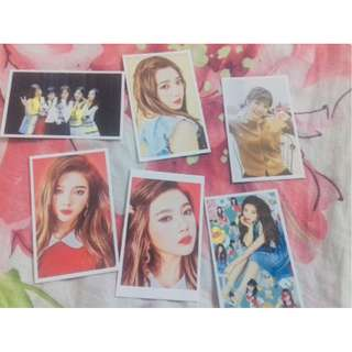 (Clear Stock) Red velvet Joy Card Set (6 pcs)